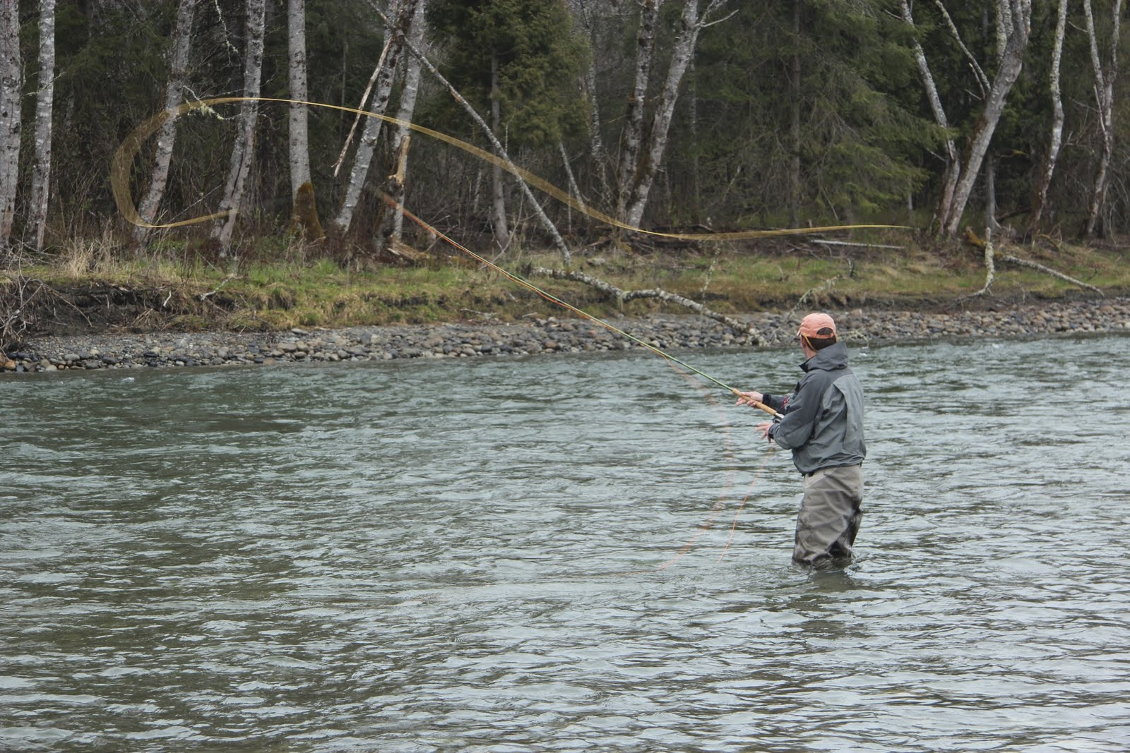 Country pleasures fly fishing spey casting for Fly fishing casting