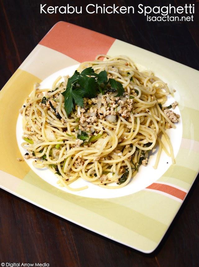 Kerabu Chicken Spaghetti - RM13