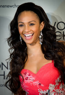 Alesha Dixon Long Hairstyle