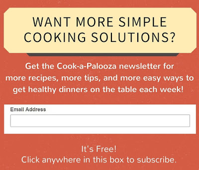 Subscribe to the Cook-a-Palooza Newsletter