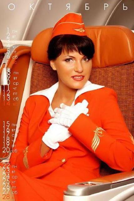 bombastic airlines - Aeroflot Kalender 2011