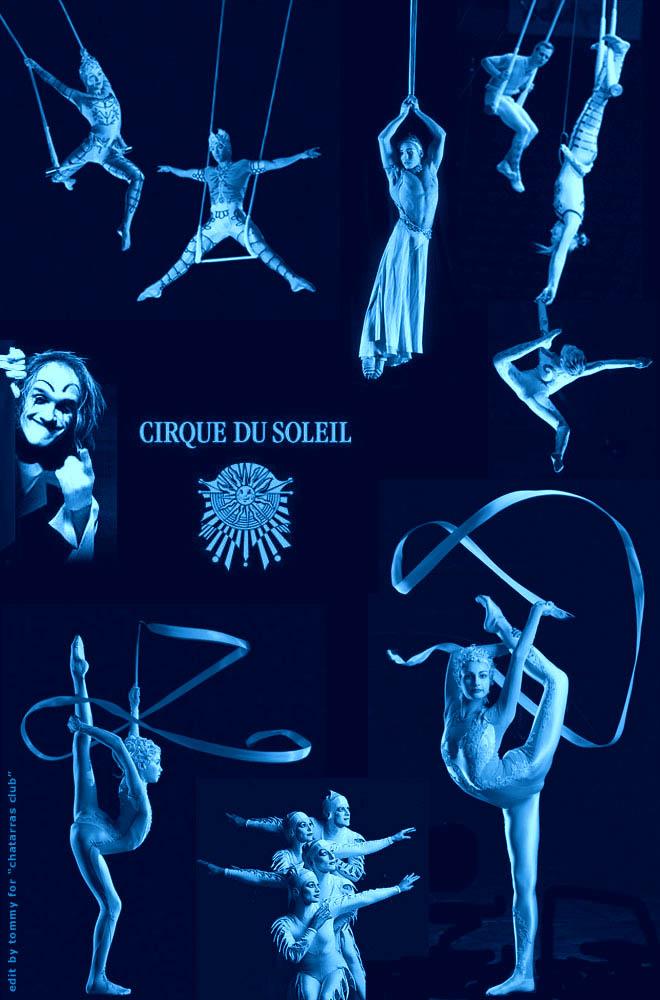 ... busca los videos Cirque du Soleil !!!