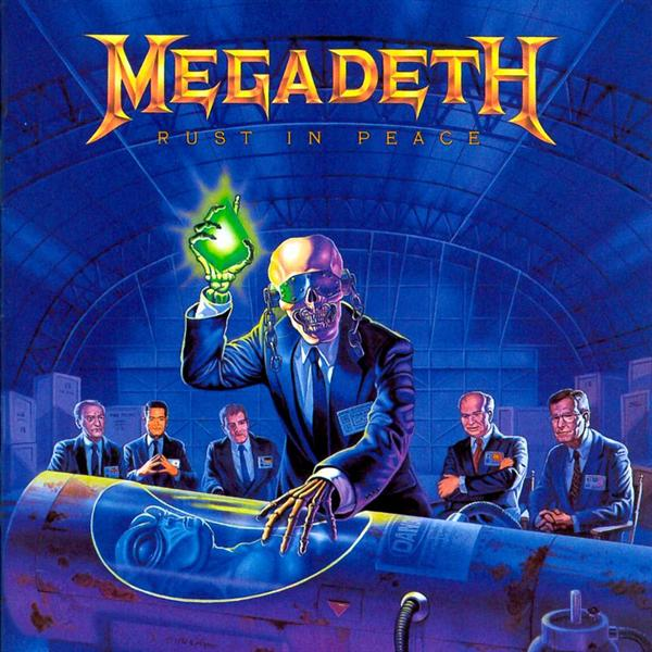 Megadeth Rust In Peace Cd 2000ish Albums: Megade...