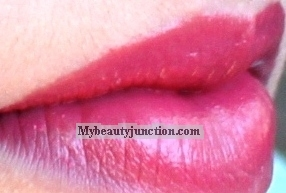 Benefit Hydra-Smooth Lip Color review, swatches of Fling Thing