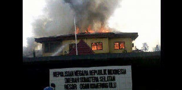 Kronologi Penyerangan Mapolres OKU Versi TNI