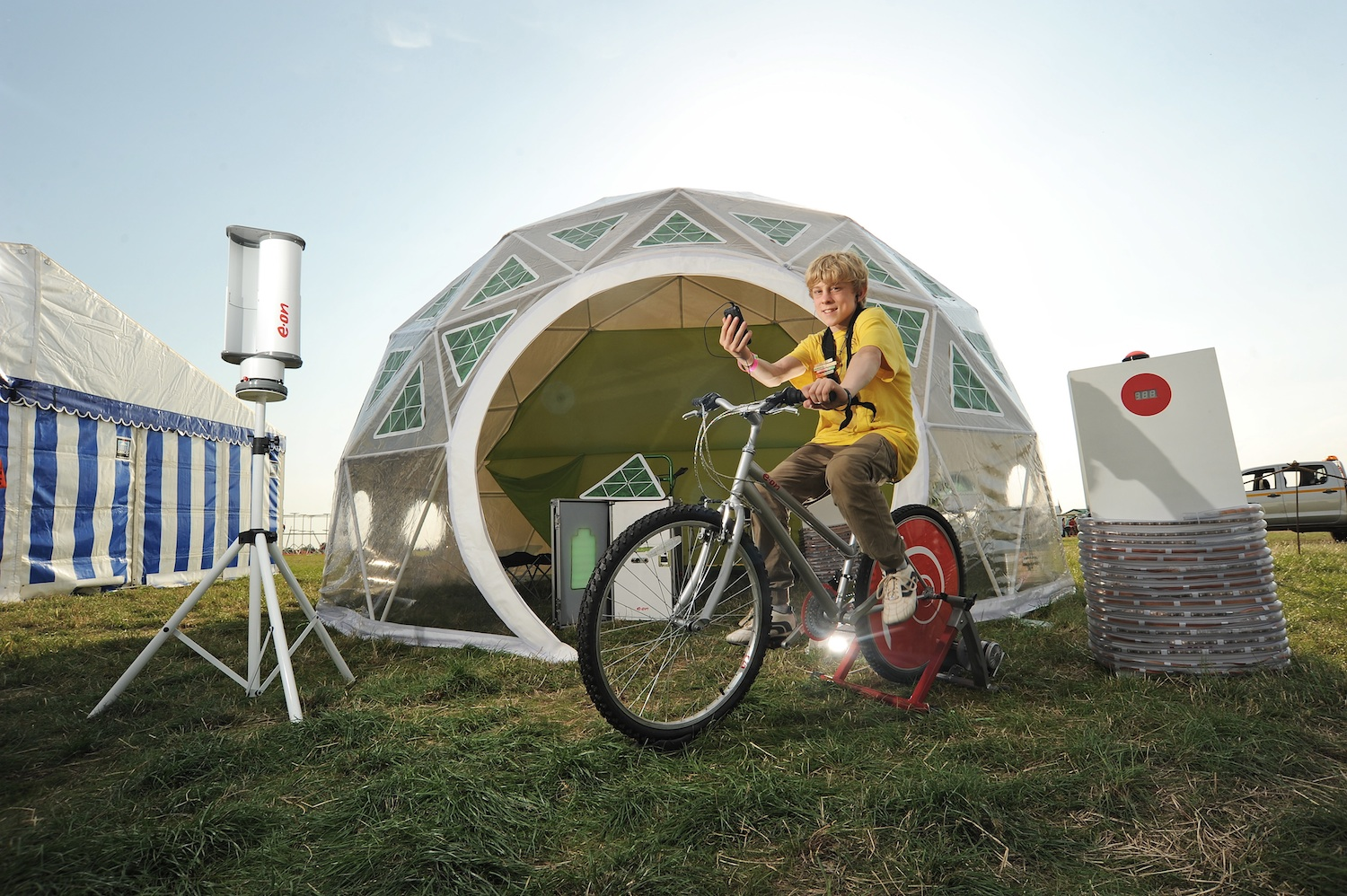 It was also filled with all kinds of high tech c&ing gear with a general theme of heat and power efficiency. We had great fun sourcing the gear and ... & gusto design blog: Gusto creates u0027Tent of the Futureu0027 for E.ON