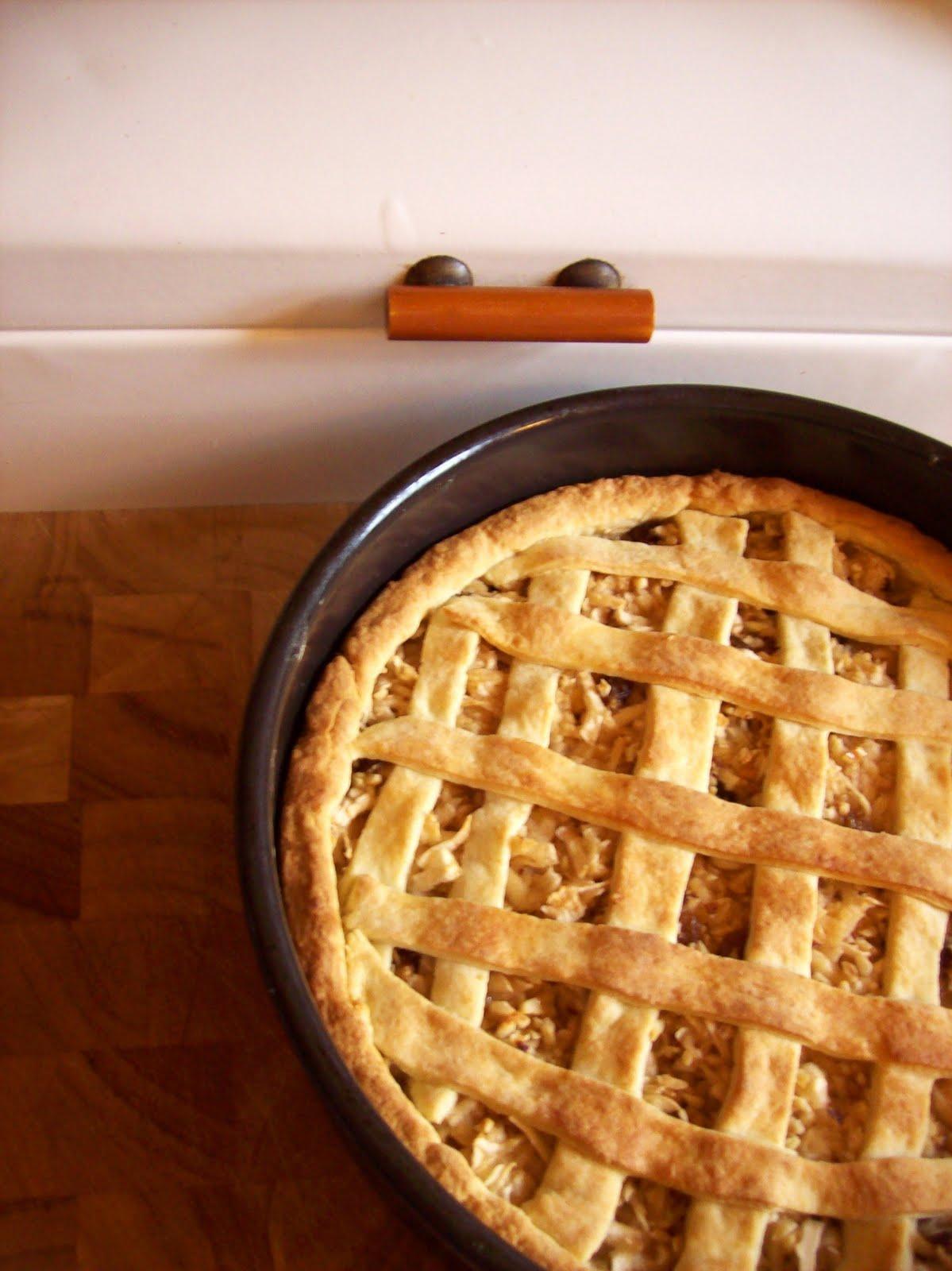 La golosità: sonntagsgebäck: steyrischer apfelkuchen