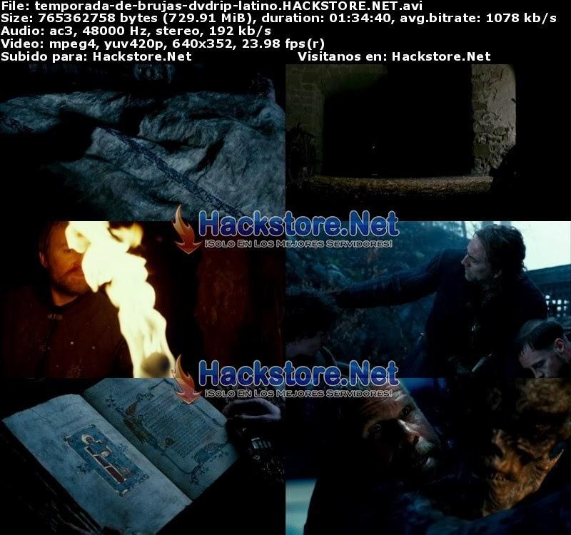 Captura Caceria de Brujas (2011) DVDRip Latino