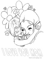 Big Huge For Mothers Day Coloring Pages