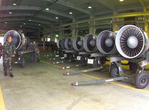 TF-34 Turbofan used on S-3B Viking