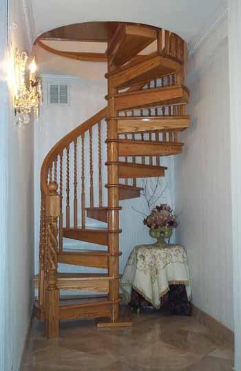 Dise os de escaleras en espiral arquitectura y dise o - Escalera en espiral ...