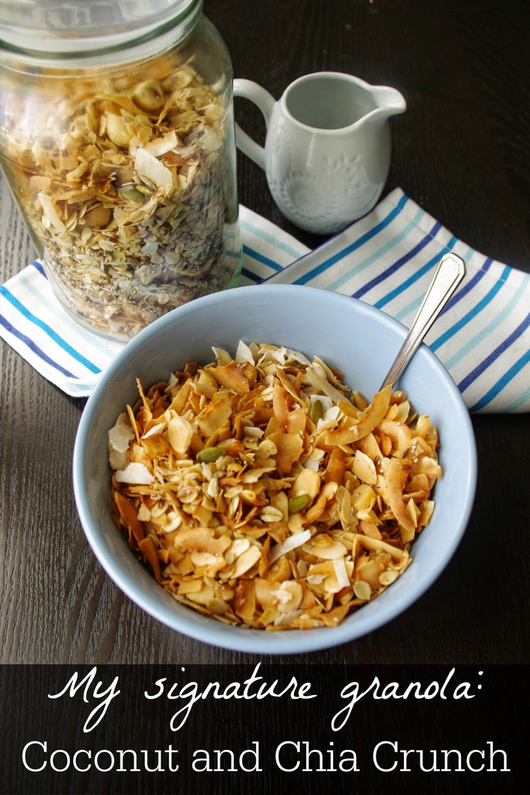 Coconut and Chia Crunch Granola