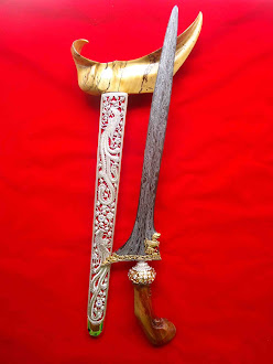 keris singo barong kinatah emas