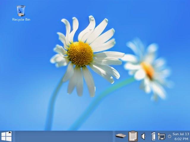 tails linux windows 8