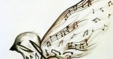 tatouage oiseau note de musique mode simple ou horrible. Black Bedroom Furniture Sets. Home Design Ideas