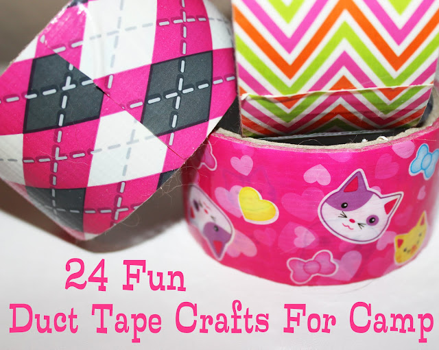 The girl scout life 24 fun duct tape crafts for camp for Mini duct tape crafts