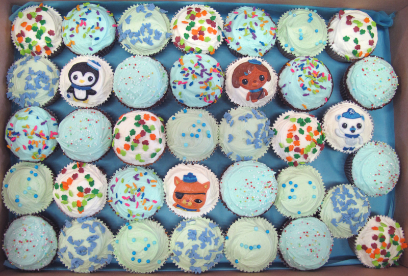 Octonauts cupcakes Crumbs Doilies News