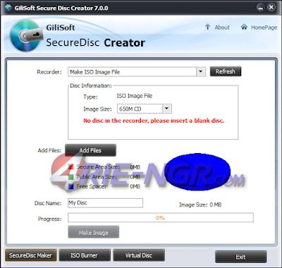 GiliSoft Secure Disc Creator 7.0.0 Full