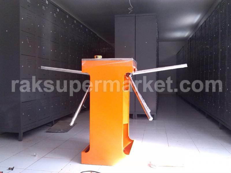 Pintu Putar Double Orange