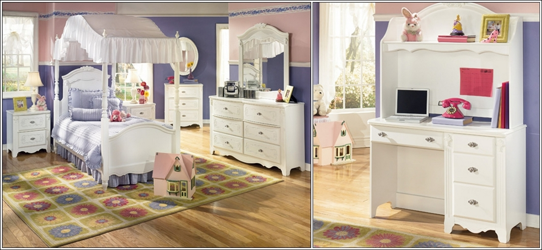Modèles De Chambres : Deco chambre interieur modèles de meubles blancs pour les