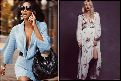 moda inverno 2015 modelos de vestidos