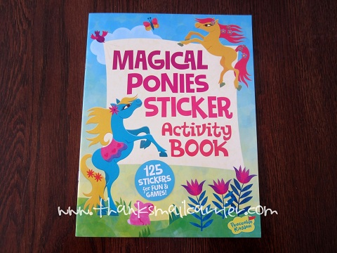 Peaceable Kingdom Sticker Activity Book