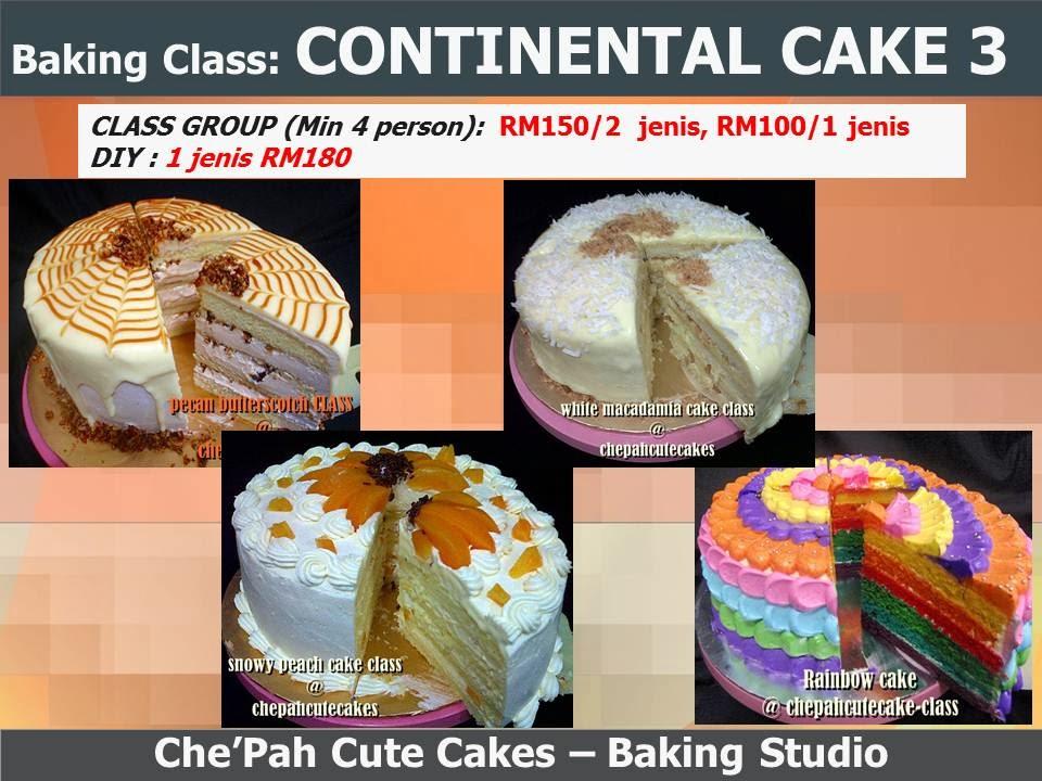 Baking Class: CONTINENTAL