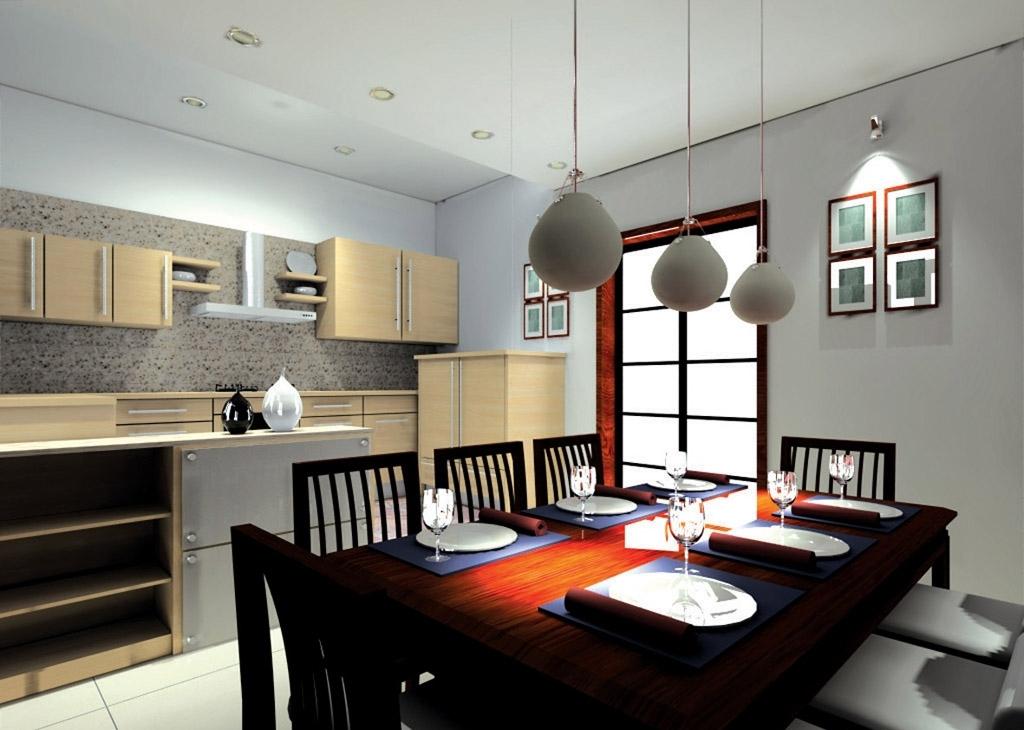 Home Design Interior: modern dining designs