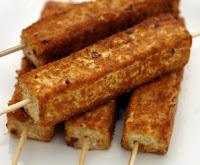 Espetinho de Tofu tipo Rabanada