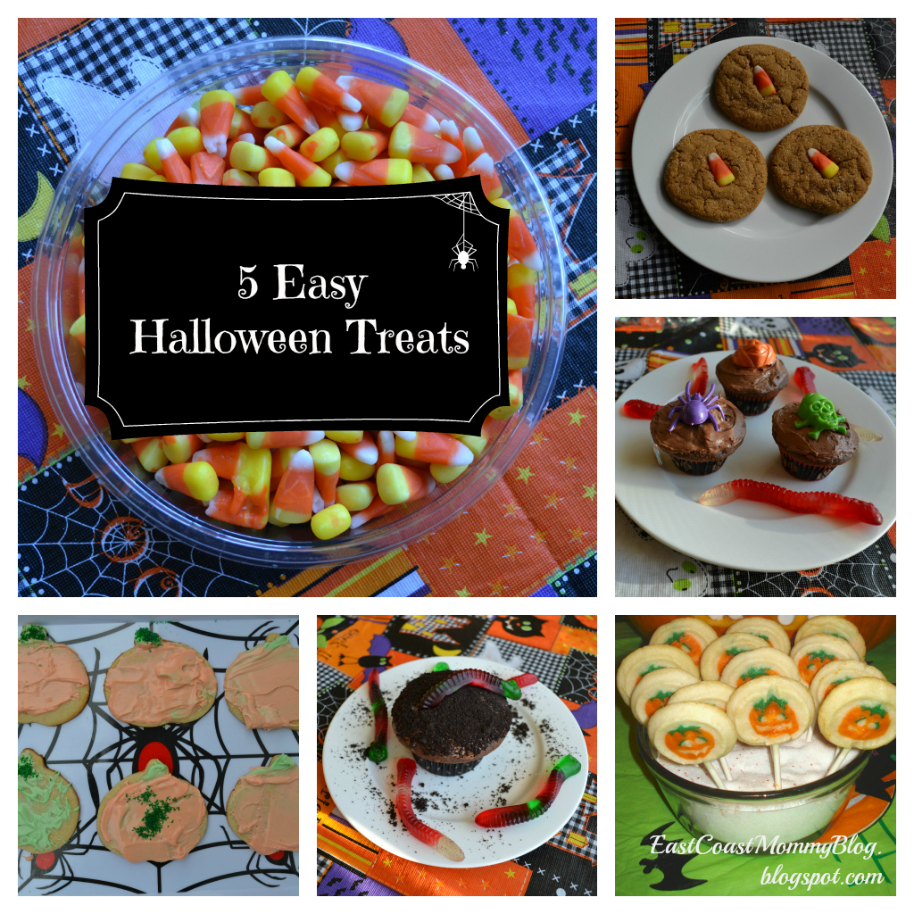 East coast mommy 5 easy halloween treats for Fun halloween treats to make with toddlers