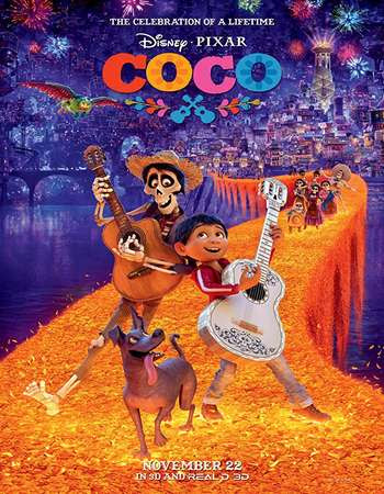 Watch Online Coco 2017 720P HD x264 Free Download Via High Speed One Click Direct Single Links At WorldFree4u.Com