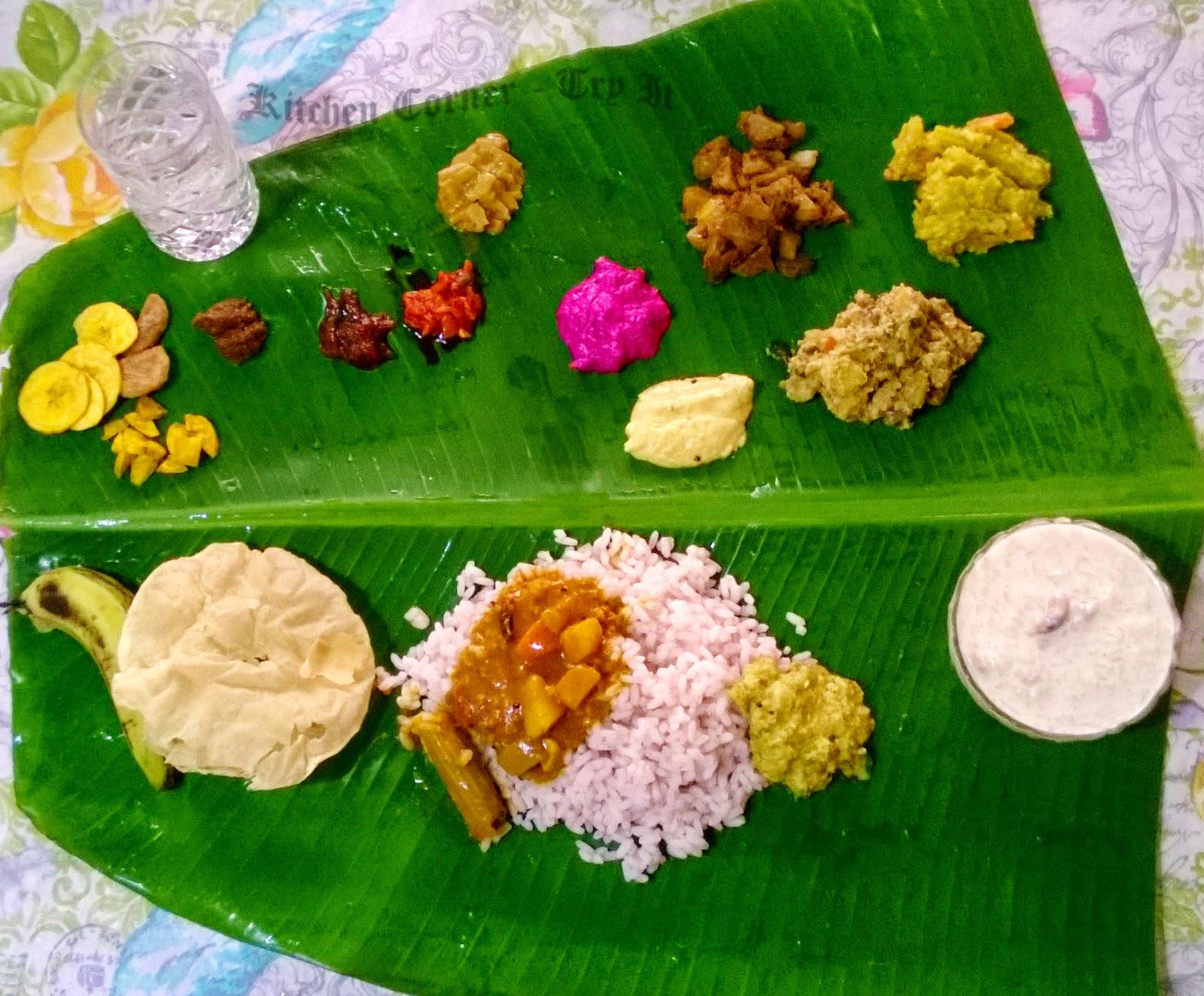 Kerala Onam Sadhya