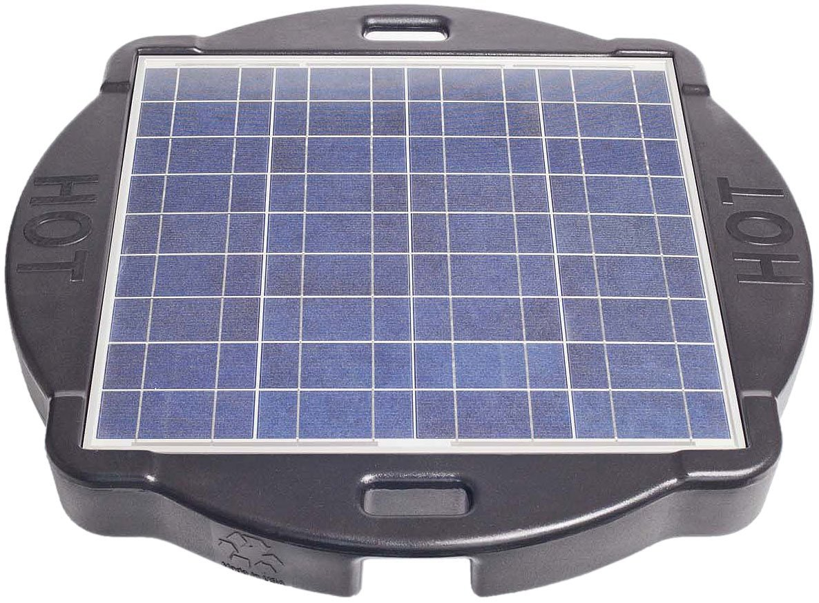 Going green with reuben solar powered savior solar pool for Solar water filter for ponds