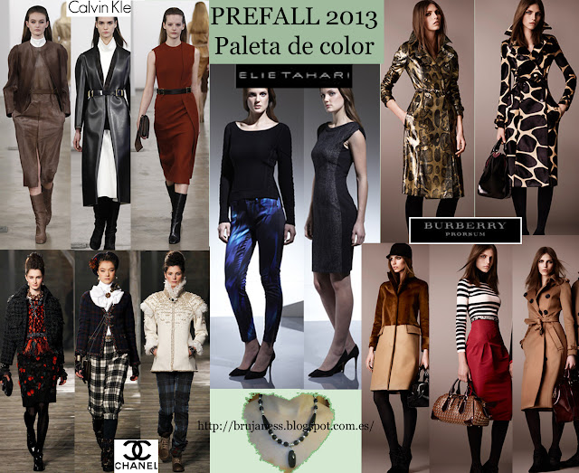 Chanel Burberry Michael Kors calvin klein elie tahari phillip leen prefall new trends nuevas tendencias prefall otoño fall 2013 colours colores