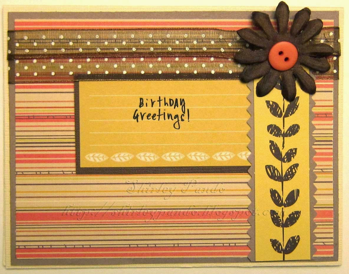 Birthday Greetings! card