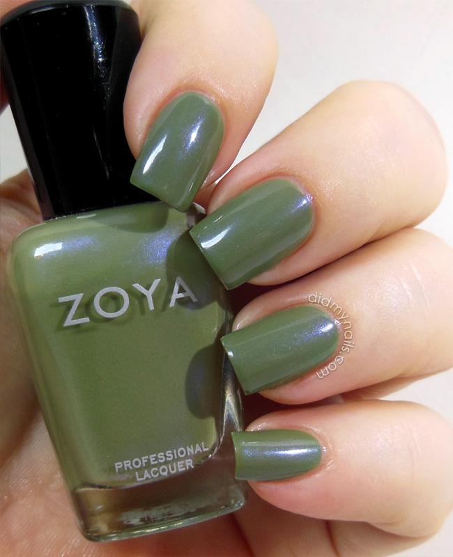 Zoya Gemma swatch