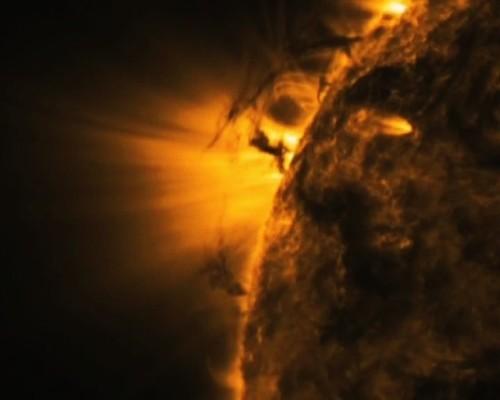 Inilah Tornado yang Terjadi di Permukaan Matahari, Besarnya 5 Kali Bumi