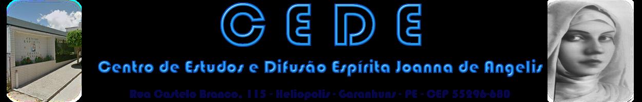 Centro de Estudo e Difusão Espírita Joana de Angelis - CEDE