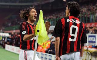 Inzaghi y Pirlo son noticia en la Liga Italiana