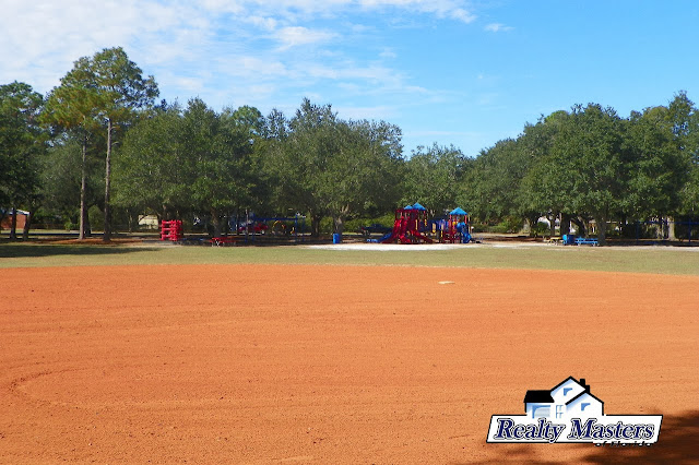 Kickball or baseball area at Tippin Park, Pensacola, FL