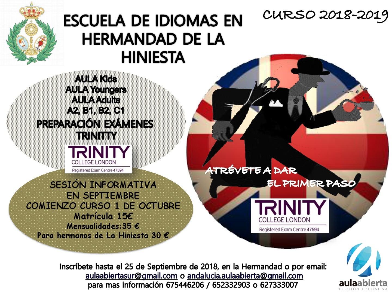 """Escuela de Idiomas """"Virgen de la Hiniesta"""""""