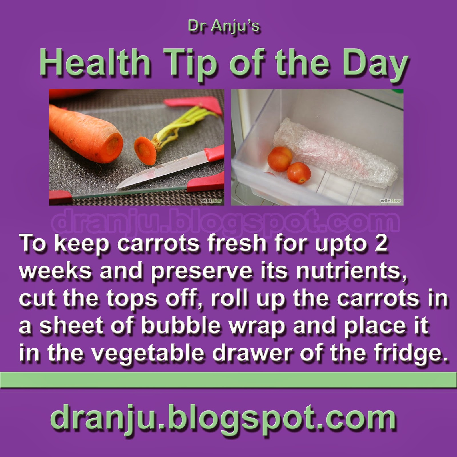 dr anju s health tips health tip of the day   22nd march
