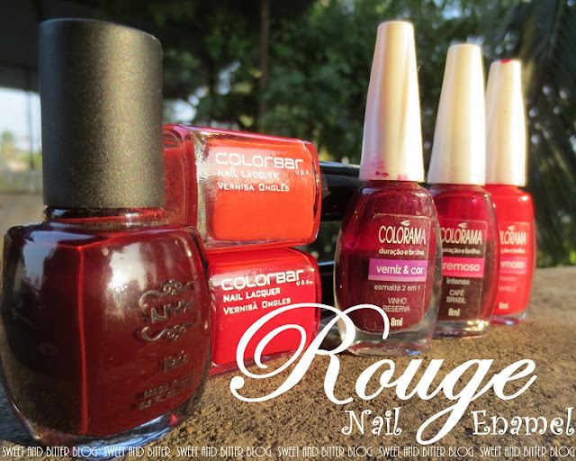 Red Nail Polish India Colorbar Maybelline NYX