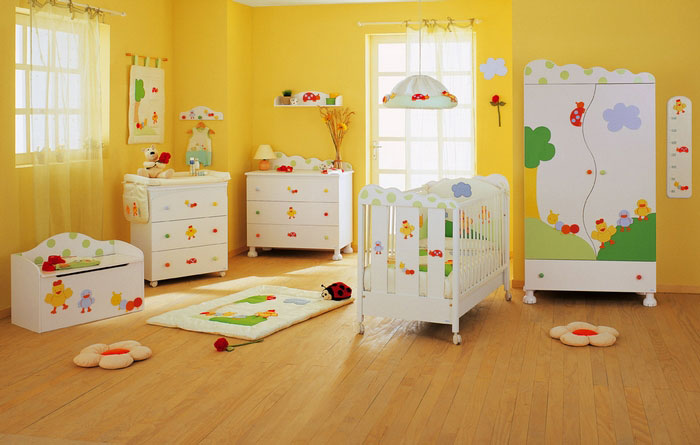 Ideas para decorar el cuarto del bebe consejos de - Iluminacion habitacion bebe ...
