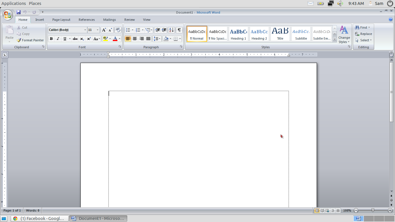 ubuntu home office. Cara Install Ms.Office 2007 Di Ubuntu Home Office