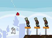 Angry Birds contra Zombies HD