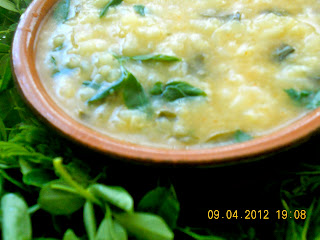 drumstick leaves porridge