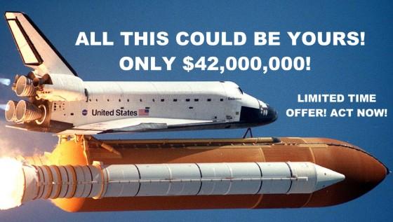 Futuristic Space Shuttle