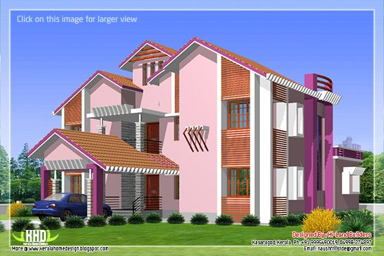 Villa elevation #3