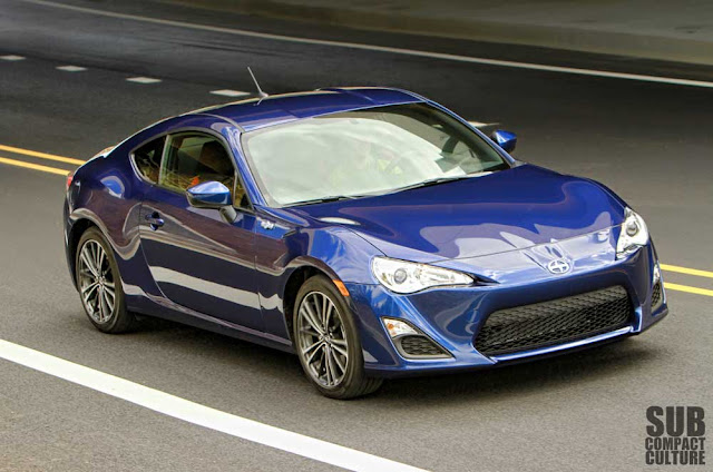 2013 Scion FR-S driving